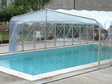 Pool cover tunnels
