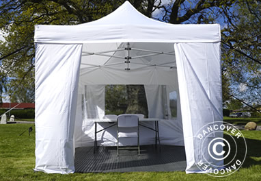 Visitor tents for nursing homes