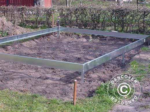 Greenhouse base for Halls Popular 1.93x2.57x1.95 m 5 m²