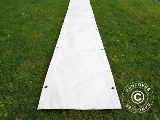 Raingutter 7 m PVC for Marquees