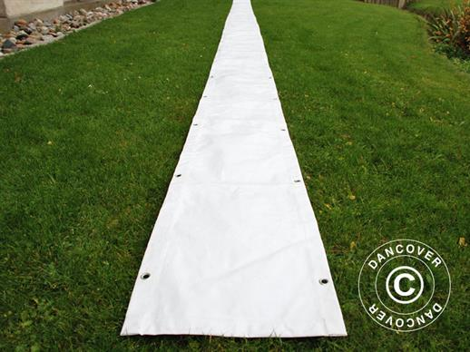 Raingutter 14 m PVC for Marquees