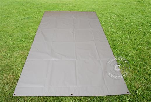Tarpaulin/Ground cover 1.7x2.7 m PVC, Grey