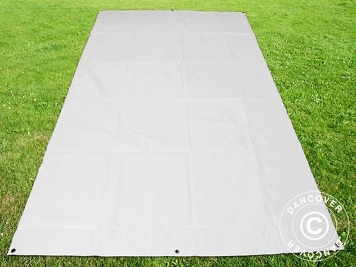 Tarpaulin/Ground cover 1.7x2.7 m PVC, White