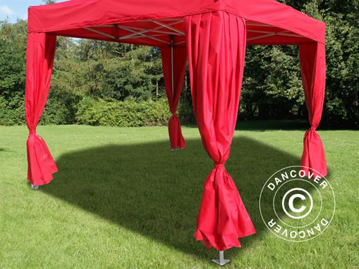 FleXtents Curtains, 2 pcs. Red