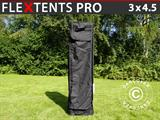 Sac de transport, Flextents PRO 3x4,5m, Noir
