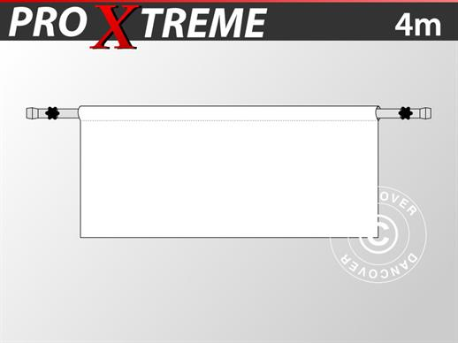 Half sidewall for FleXtents PRO Xtreme, 4 m, White