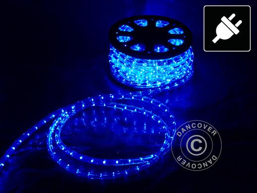 Rope light LED, 50m, Ø1.2 cm, Multifunction, Blue
