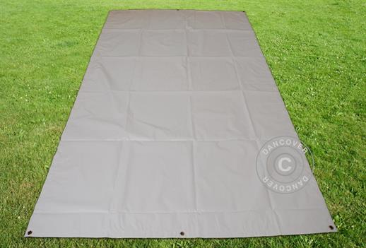 Tarpaulin/Ground Cover 4.5x8.5 m PVC, Grey