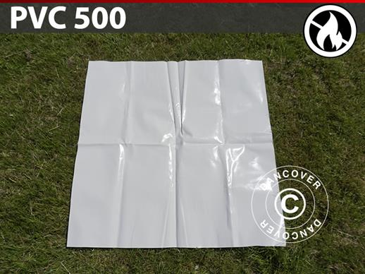 Repair PVC for Fire Retardant marquees, 500 g/m², 1x1 m, White