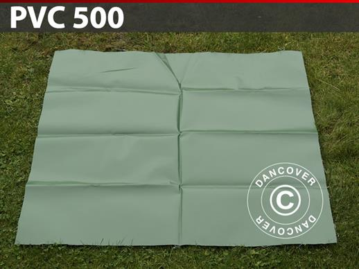 Repair PVC for storage tent, 500 g/m², 1x1 m, Green