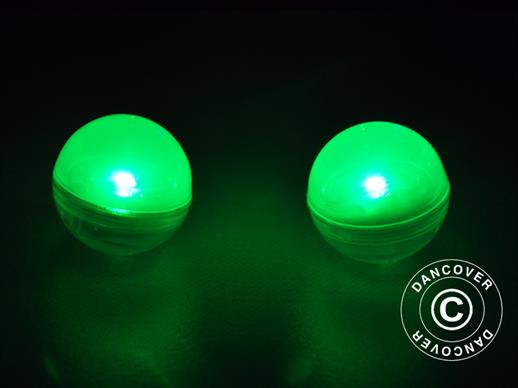 Party light, Fairy Berry, LED Green, 24  pcs.