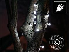 b48eef5d AC68130 LED lyskæde, blinkende, 25m, Kold Hvid