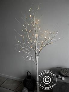 Led birkenbaum 1 5m warmwei 72 led dancovershop de for Birkenbaum deko