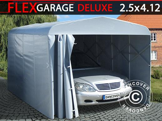 Folding tunnel garage (Car), ECO, 2.5x4.12x2.15 m, Grey