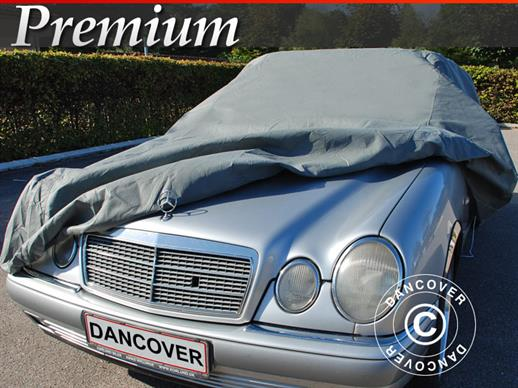 Car Cover Premium, 4.7x1.66x1.27 m, Grey