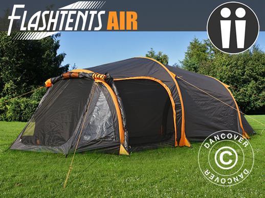 Tenda da campeggio flashtents® air 2 persone arancione grigio