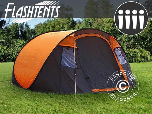 Ekspresowy namiot kempingowy FlashTents®, 4 osobowy, Medium