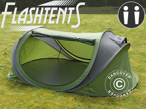 Camping telt POP UP, Flashtents™ 2 personer Dancovershop NO