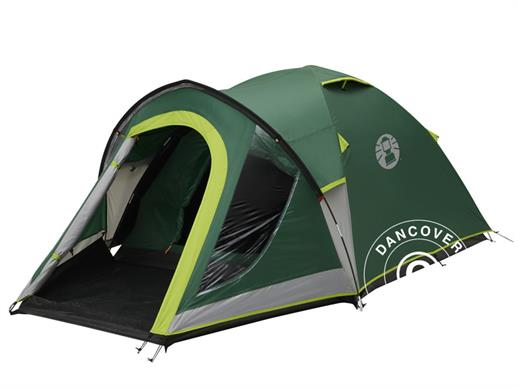 Camping tent, Coleman Kobuk Valley 4 Plus, 4 persons, Green/Grey