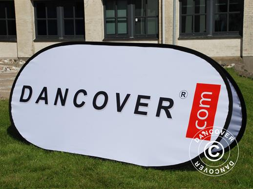 Pop up Banner, Premium 200x100cm