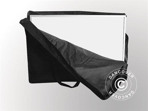 Carry bag for curved counter