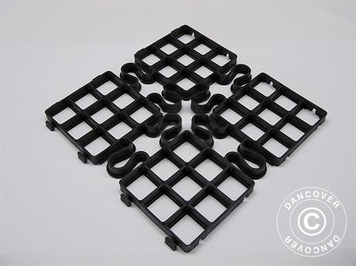 Outdoor floor tiles GRID25 1 m²  (4 pc.)