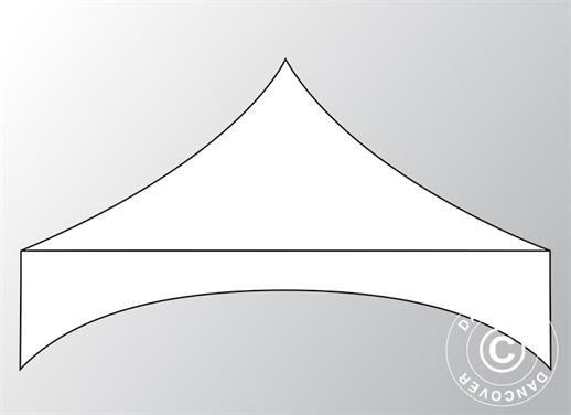 "Roof cover for Pop up gazebo FleXtents PRO ""Arched"" 3x3 m, White"