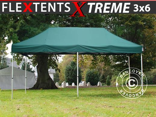 Pop up gazebo FleXtents Xtreme 50 3x6 m Green