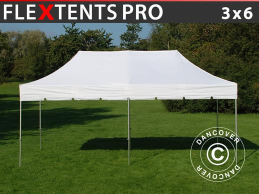 "Pop up gazebo FleXtents PRO ""Peaked"" 3x6 m White"