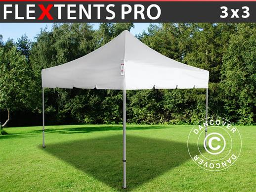 "Pop up gazebo FleXtents PRO ""Peaked"" 3x3 m White"