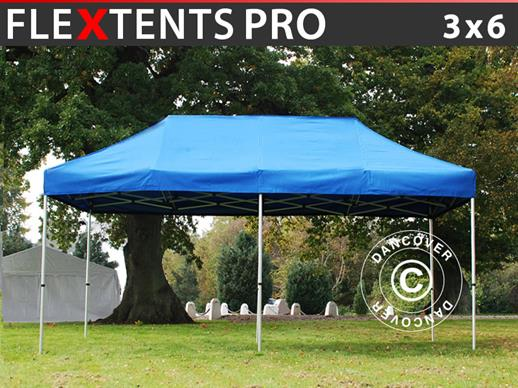 Pop up gazebo FleXtents Pro 3x6 m Blue