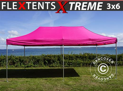 Vouwtent/Easy up tent FleXtents Xtreme 50 3x6m Roze