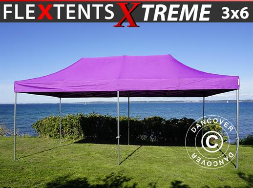 Carpa plegable FleXtents Xtreme 50 3x6m Morado