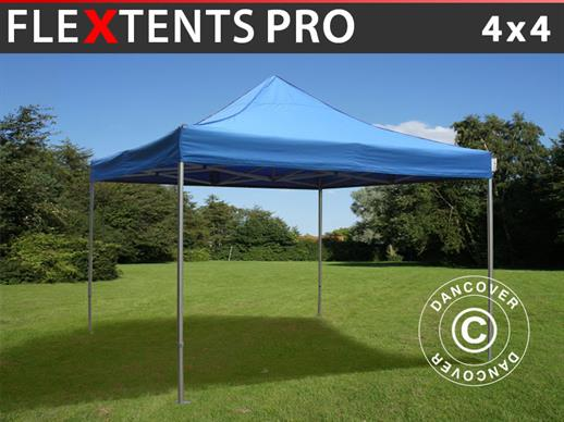 Pop up gazebo FleXtents PRO 4x4 m Blue