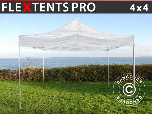 Tenda Dobrável FleXtents PRO 4x4m Transparente