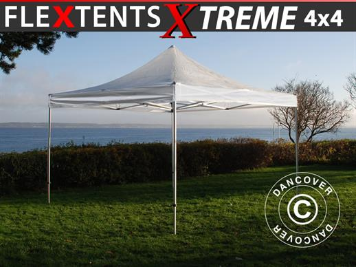 Faltzelt FleXtents Xtreme 4x4m Transparent