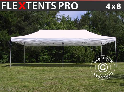 Gazebo pieghevole flextents pro m bianco dancovershop it