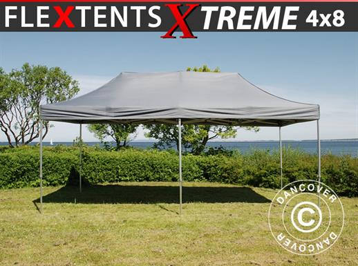 Quick-up telt FleXtents Xtreme 50 4x8m Grå