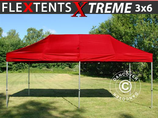 Quick-up telt FleXtents Xtreme 60 3x6m Rød