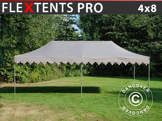"Pop up gazebo FleXtents PRO ""Morocco"" 4x8 m Latte"