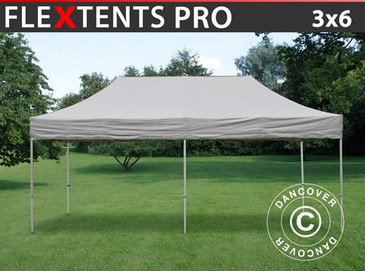 Pop up gazebo FleXtents PRO 3x6 m Latte
