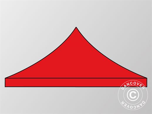 Roof cover for Pop up gazebo FleXtents 4x6 m, Red