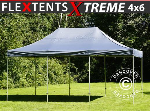 Pop up gazebo FleXtents Xtreme 50 4x6 m Grey