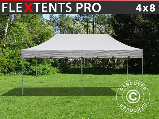 "Carpa plegable FleXtents PRO ""Peaked"" 4x8m Latte"