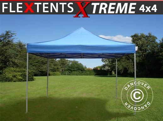 Quick-up telt FleXtents Xtreme 4x4m Blå