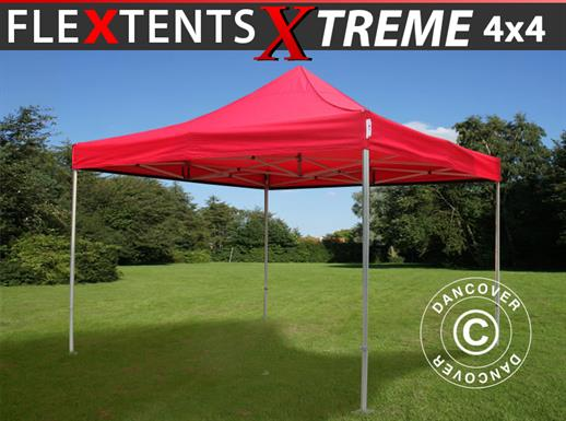 Pop up gazebo FleXtents Xtreme 4x4 m Red