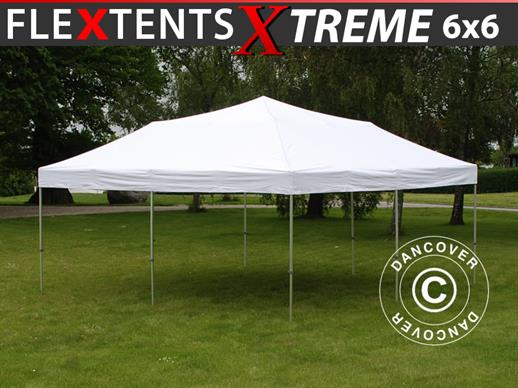Pop up gazebo FleXtents Xtreme 50 6x6 m White