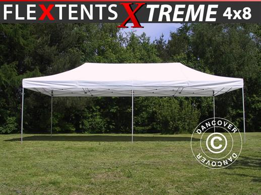 Quick-up telt FleXtents Xtreme 60 4x8m Hvit