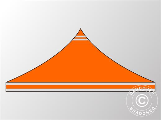 Roof cover for Pop up gazebo FleXtents PRO 3x3 m Orange Reflective