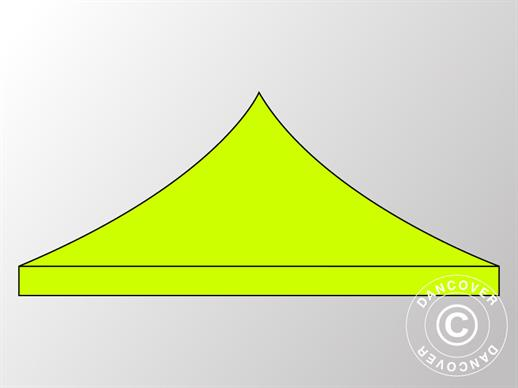 Roof cover for Pop up gazebo FleXtents PRO 4x4 m, Neon Yellow